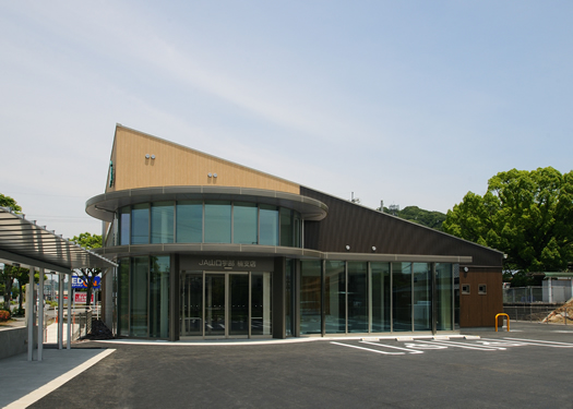 JA山口宇部 楠支店外観全景(北西面)イメージ写真1
