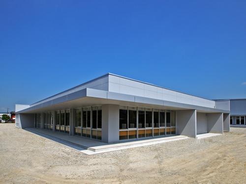 厚狭地区複合施設整備事業(主棟)外観南東面イメージ写真