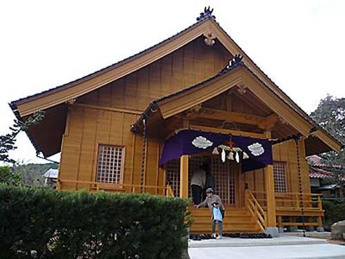 万倉神道祖霊殿外観イメージ写真