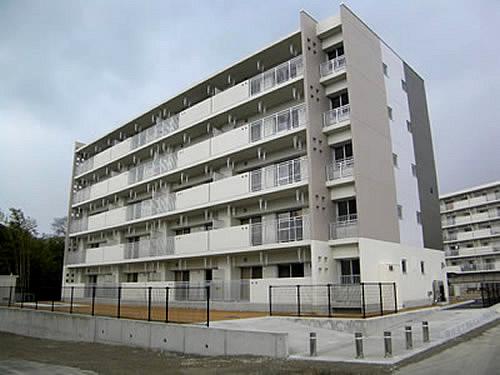 西宇部県営住宅外観南面イメージ写真